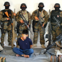 BORDER WAR: Cartel enforcers brandish anti-aircraft guns, military body armor in shock hostage video