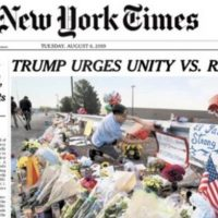 Trump Blasts NY Times For Changing Its Headline After Democrats 'Went Absolutely Crazy'