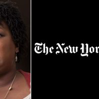 New York Times Pushes Stacey Abrams' Election Conspiracy Theory Without Evidence