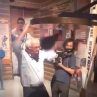 Socialist Windbag Bernie Sanders Hits Himself in the Face with a Boxing Speed Bag (VIDEO)