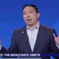 Andrew Yang goes full Publishers Clearinghouse, offering a thousand bucks a month to 10 lucky families out there in TV-land