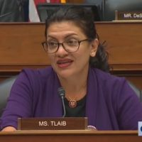 WATCH: Rep. Rashida Tlaib Attacks Vape Hearing Witness for Speaking Out Against Marxism, Accuses Her of Being in a Conspiracy