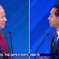 Crowd gasps as Castro questions Biden's memory: 'Are you forgetting what you said two minutes ago?'