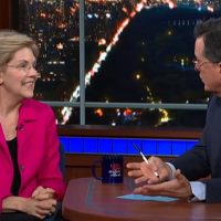 Stephen Colbert Advises Elizabeth Warren On How To Talk About Raising Taxes On The Middle Class (VIDEO)