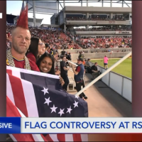 Salt Lake professional soccer team bans 'Betsy Ross' American flag