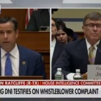 BOOM! Rep. Ratcliffe DEFLATES Democrat Impeachment Hopes! Lists Off Partisan Whistleblower's Numerous Errors and Lies (VIDEO)