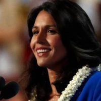 Tulsi Gabbard is back, positioning herself as last sane Democrat