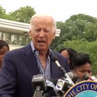 Biden recounts showdown with black 'bad dude' named 'Corn Pop' at community pool — threatened to 'wrap chain around head'