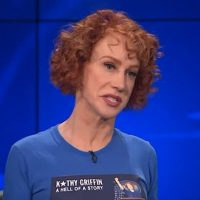 Kathy Griffin Still Complaining She Can't Find Paid Work, Blames Older White Guys (VIDEO)