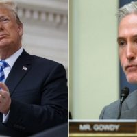 Trey Gowdy Joins President Trump's Legal Team to Combat Ukraine Hoax