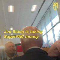 VIDEO: Biden dismisses activist concerned about SuperPAC support as a 'child'