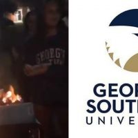 College Students Strike Back Against Cultural Marxism, Stage Burning of 'White Privilege' Novel