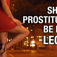 Legalize prostitution? Even some conservatives argue for it and they are wrong