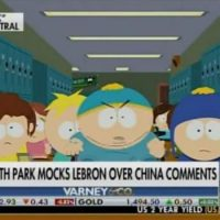 South Park Mocks Commi-Lover LeBron James Over China Comments (VIDEO)
