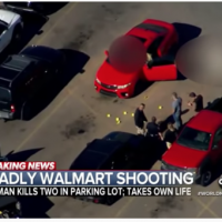 Armed citizen puts a stop to fatal shooting at Walmart by putting gun to suspect's head
