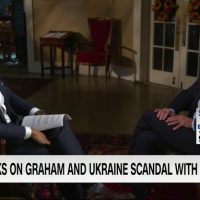 THREAT? Biden claims Lindsey Graham 'is about to go down' after investigation announcement