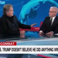 FIREWORKS! Steve Bannon Schools Anderson Cooper on Biden Crime Family (VIDEO)