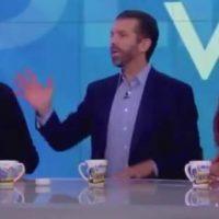 "FIREWORKS! 'The View' Erupts After Don Jr. Confronts Liberal Host Joy Behar, ""You've Worn Blackface!"" (VIDEO)"