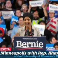 "Ilhan Omar at Bernie Sanders Rally: ""I Am Beyond Honored and Excited for a President Who Will Fight Against Western Imperialism"""
