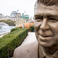 MUST SEE! A Giant F-U to the International Left: Ambassador Rick Grenell Plants Reagan Statue on Berlin Embassy as German Government Snubs US