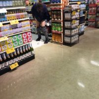 SHOCK PHOTO: San Fran man defecates in grocery store aisle
