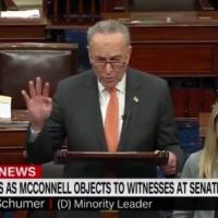 'Not Fair!' Cryin' Chuck Whines After Mitch McConnell Rejects His Call For New Witnesses in Senate Trial (VIDEO)