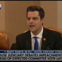 MATT GAETZ FOR THE WIN! GOP Rep. Tag-Teams with Jordan to DESTROY Democrat Party's Sham Impeachment Proceedings (VIDEO)
