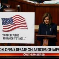Demon Pelosi Takes Floor – Gives Speech on Sham Impeachment of Donald Trump for Non-Crimes