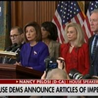 Are the Democrats afraid of presenting the articles of impeachment?