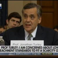 """The Current Legal Case for Impeachment Is Not Just Woefully Inadequate – But Dangerous"" – Prof. Jonathan Turley — a Democrat — Destroys Impeachment Hearing with Historic Speech"