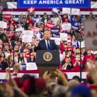 TRUMP CAMP: 57.9% of Milwaukee rally attendees NOT Republicans