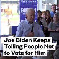 MONTAGE: Four times Biden told people to vote for somebody else