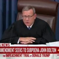 Chief Justice John Roberts strikes out