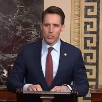 Senator Josh Hawley Introduces Resolution To Dismiss Impeachment Charges Against Trump (VIDEO)