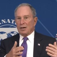 Big spendin' Bloomberg eats from Democratic candidates' rice bowls