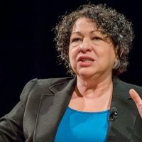 'Wise Latina' Sotomayor heaps praise on San Francisco's new far-left DA, Chesa Boudin