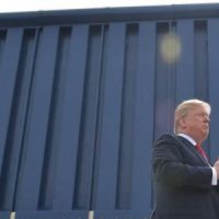 Illegal Aliens Have To Be Rescued After Getting Stuck On Top Of Trump's Border Wall