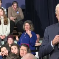 Creepy Joe is back: Biden asks an 11-year-old to 'talk to me before we leave, OK?'