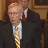 McConnell Signs Hawley Resolution – Senate Impeachment Trial to Begin Next Week