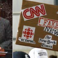 Fake News Blacks Out Trump Defense Lawyer Pam Bondi Exposing Hunter Biden's Ukraine Corruption