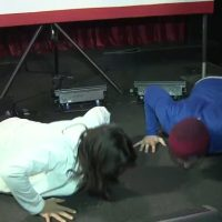 TULSI: I could beat Biden in push-up contest