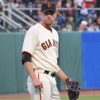 The San Francisco Giants ban Aubrey Huff from the 2010 World Series party