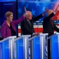 Democrats Turn On Each Other As Debate In Nevada Turns Into Circular Firing Squad (VIDEOS)