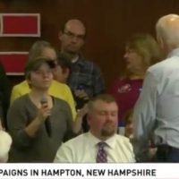 Biden Lashes Out at Female New Hampshire Voter Asking About His Poor Performance in Iowa, 'You're a Lying Dog-Faced Pony Soldier' (VIDEO)
