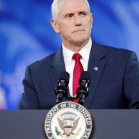 Vice President Mike Pence Addresses Coronavirus Concerns While Giving Address to CPAC