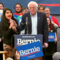 WEAK: Bernie Sanders Allows Nevada Rally to be Overrun by Deranged Anti-Dairy Activists