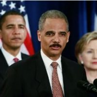 Obama's Corrupt AG Eric Holder Encourages DOJ Officials to Rise Up and Snitch on Bill Barr