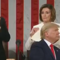 Pelosi's Speech Tear Was The Best Applause For Trump