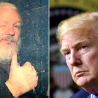 WOW: Julian Assange's Lawyer Claims in Court that President Trump Offered His Client a Pardon