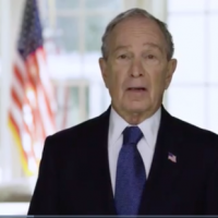 Bloomberg wasted millions more in his 'roadblock' multi-network 3-minute TV ad last night